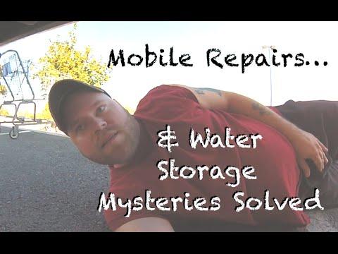 Road Repairs & Water Storage Mysteries