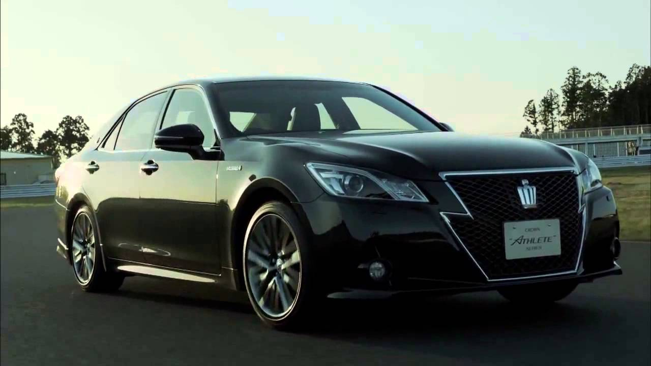 2013 toyota crown 8 speed athlete 4wd royal jdm japan commercial carjam tv car tv show 2013 youtube