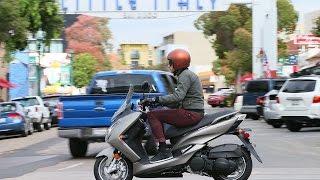 2015 Yamaha Smax Scooter First Ride - MotoUSA