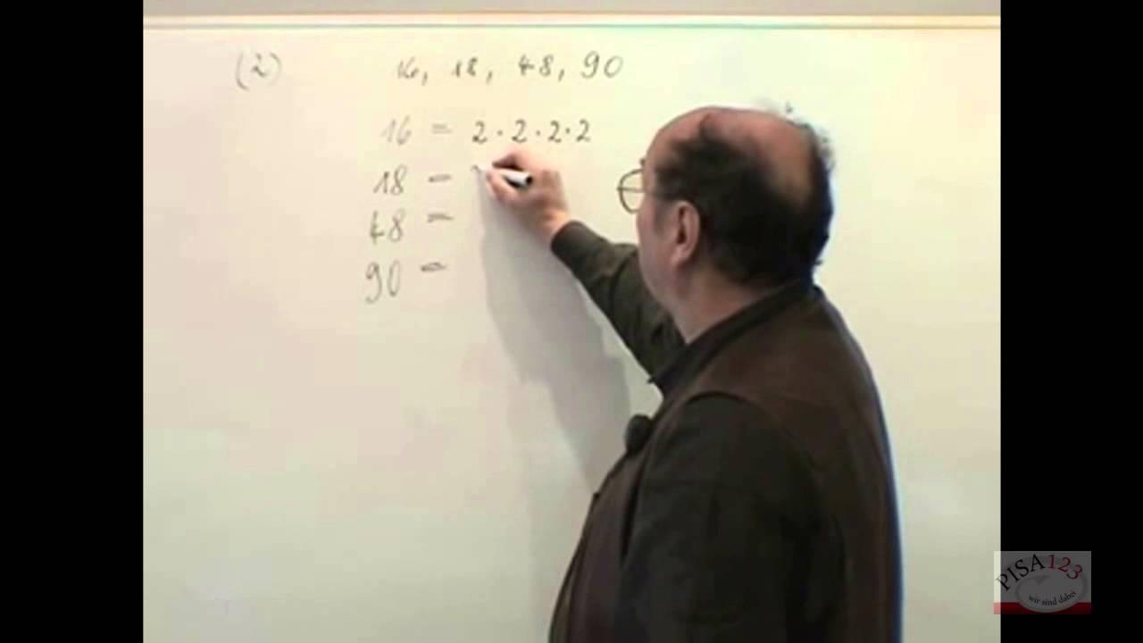 617 - Berechnung des kgV (kleinstes, gemeinsames Vielfache) Teil 2 ...