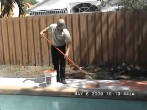 How To Apply Decorative Concrete Coating