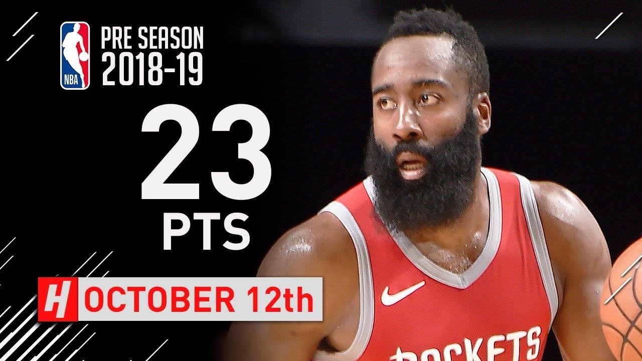 james-harden-full-highlights-rockets-vs-grizzlies-2018-10-12-23-points-6-ast