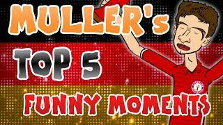 😂MULLER's TOP 5 FUNNY MOMENTS!😂 (Feat. Passport Phone, Dance, Step-Overs and more!)