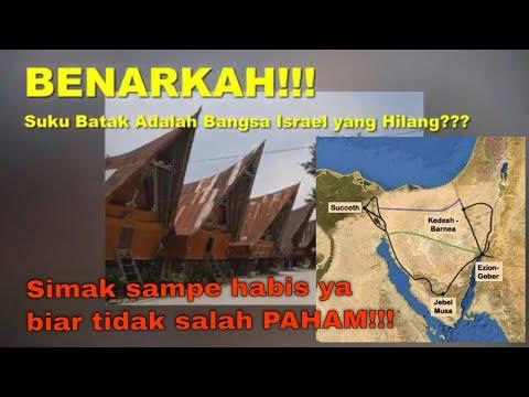 BENARKAH!!! Suku Batak Adalah Bangsa Israel Yang Hilang???