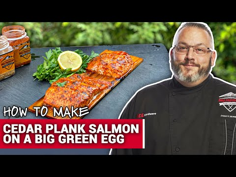 How To Make Cedar Plank Salmon On A Big Green Egg - Ace Hardware