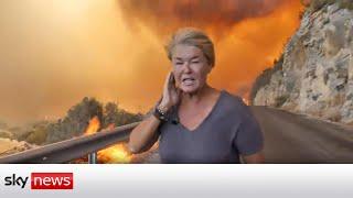Turkey Wildfires: An eyewitness account