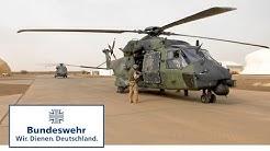 NH-90 in Mali: Erster Flug im Einsatzgebiet - Bundeswehr