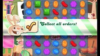 Candy Crush Saga Level 777 walkthrough (no boosters)
