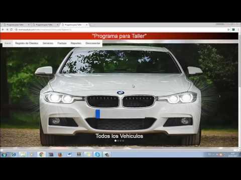 programa para taller de autos