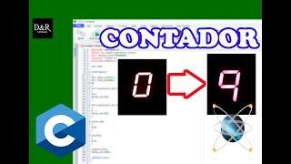 Video Contador numérico en display con PIC y botones - Tutorial programación en C | D&R Tutoriales download MP3, 3GP, MP4, WEBM, AVI, FLV Juli 2018