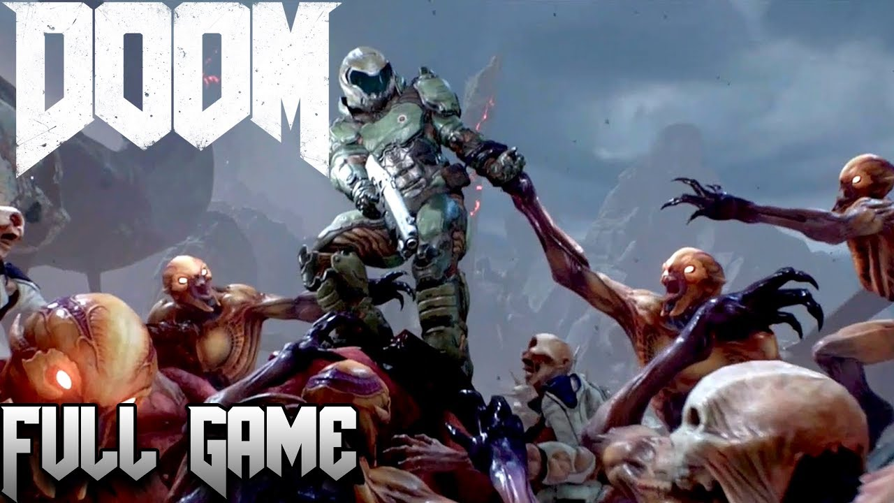 1 18 GB] Doom [2016] (PS4 Pro 1080p 60 fps) Longplay
