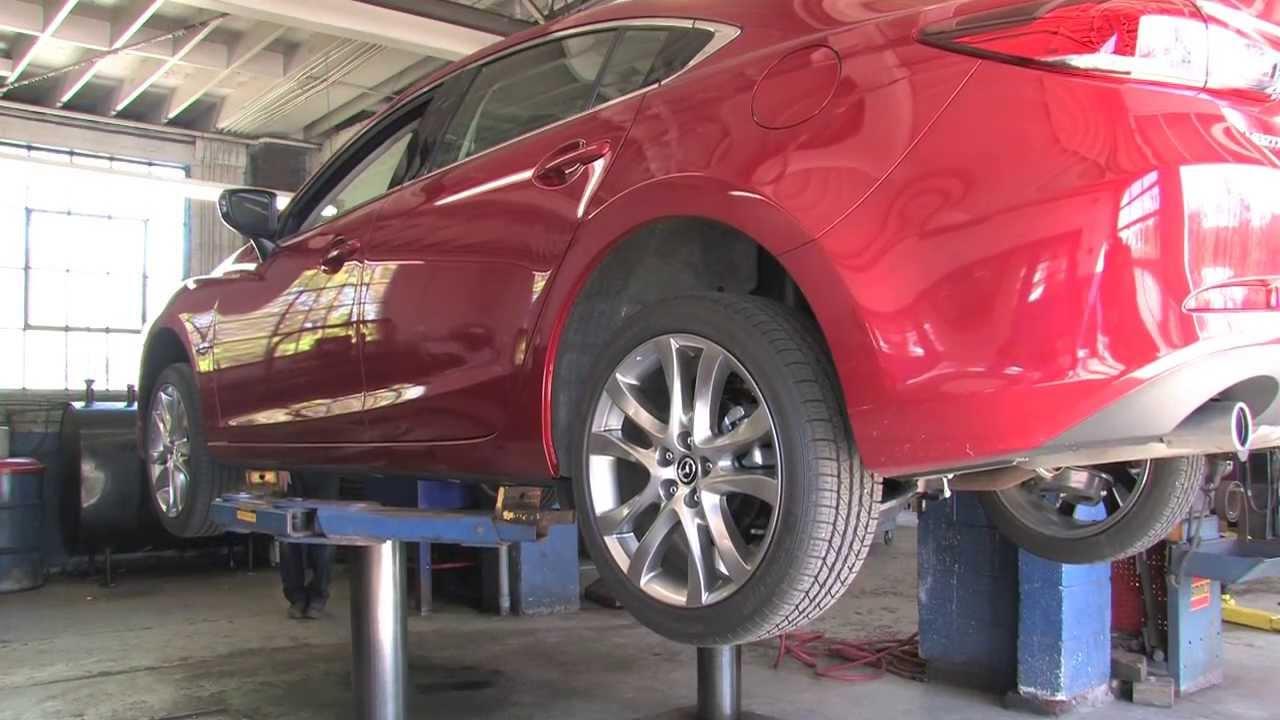 2014 Mazda6 Skyactiv Undercar Aerodynamics Youtube