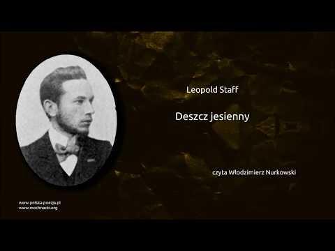 Leopold Staff Deszcz Jesienny