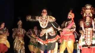 Yakshagana -- Prajwal kumar Guruvayanakere as Dushasana