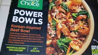Healthy Choice meals review