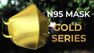 The Arctic Fox Gold Series N95 Mask