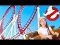 Зря Согласилась Парк Развлечений Призраки в Комнате Страха Крутые Горки Motiongate Дубай | Elli Di