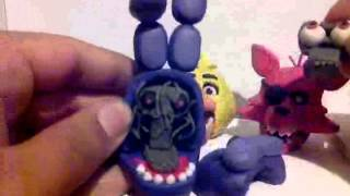 - Five Nights at Freddy s Plasticine characters.