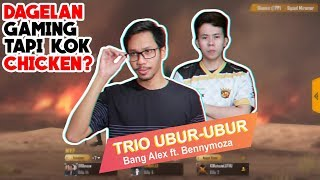 TRIO UBUR UBUR BANG ALEX, BENNYMOZA, STOZIE SERBU MIRAMAR - PUBG MOBILE INDONESIA