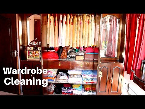 Indian Closet Cleaning and Organization Monthly Routine / Indian Wardrobe Organization