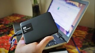 How to install WD My Passport Ultra 3TB external hard drive - unboxing, review,  product info