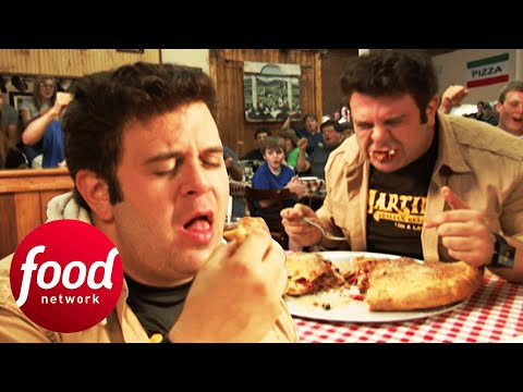 Holy Moly! Can Adam Finish This 5 Lb Stromboli? | Man v Food