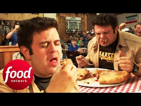 Holy Moly! Can Adam Finish This 5 Lb Stromboli? | Man V Food