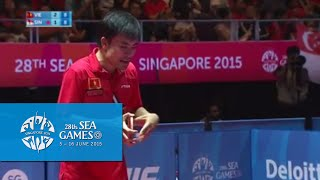 Table Tennis Men's Team Finals Vietnam vs Singapore Match 1 | 28th SEA Games Singapore 2015