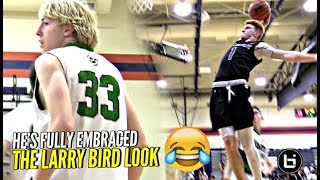 They BROUGHT OUT LARRY BIRD vs Nico Mannion! 😂😂 He Can ACTUALLY PLAY Too!!