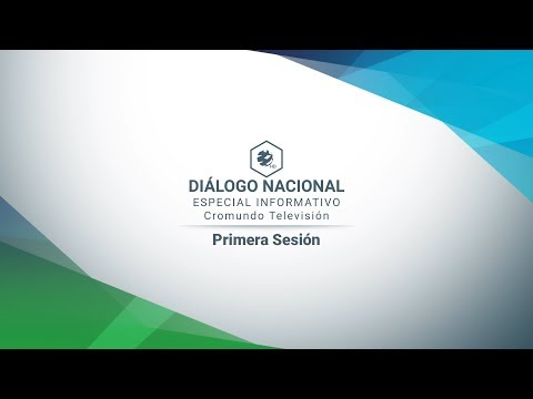 Primera Sesión del Diálogo Nacional Nicaragua | COMPLETO | 16/Mayo/2018