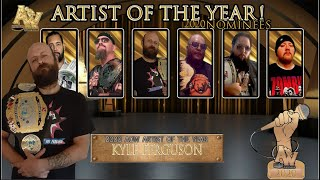 AOW: Artist Of The Year (Nominees)
