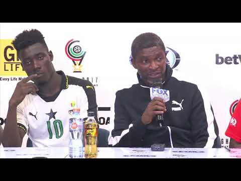 Ghana vs Guinea press conference 14 September 2017
