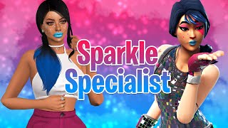 The Sims 4: Create A Sim | FORTNITE SPARKLE SPECIALIST + SIM DOWNLOAD