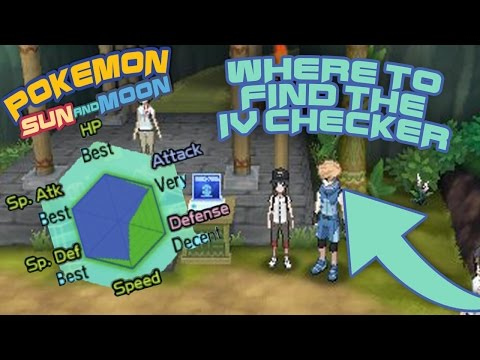 How to check IVs in Pokemon Sun and Moon!