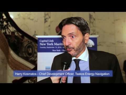 2016 New York Maritime Forum - Interview with Mr. Harry Kosmatos