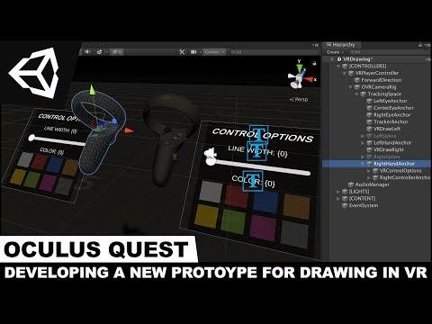 Oculus Quest Development - My Drawing VR Prototype Demo