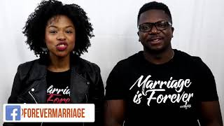 We believe in forever marriages!
