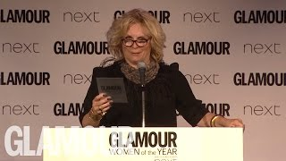 Video AbFab 's Jennifer Saunders Presents Amy Schumer With Her GLAMOUR Award   Glamour download MP3, 3GP, MP4, WEBM, AVI, FLV Juli 2018