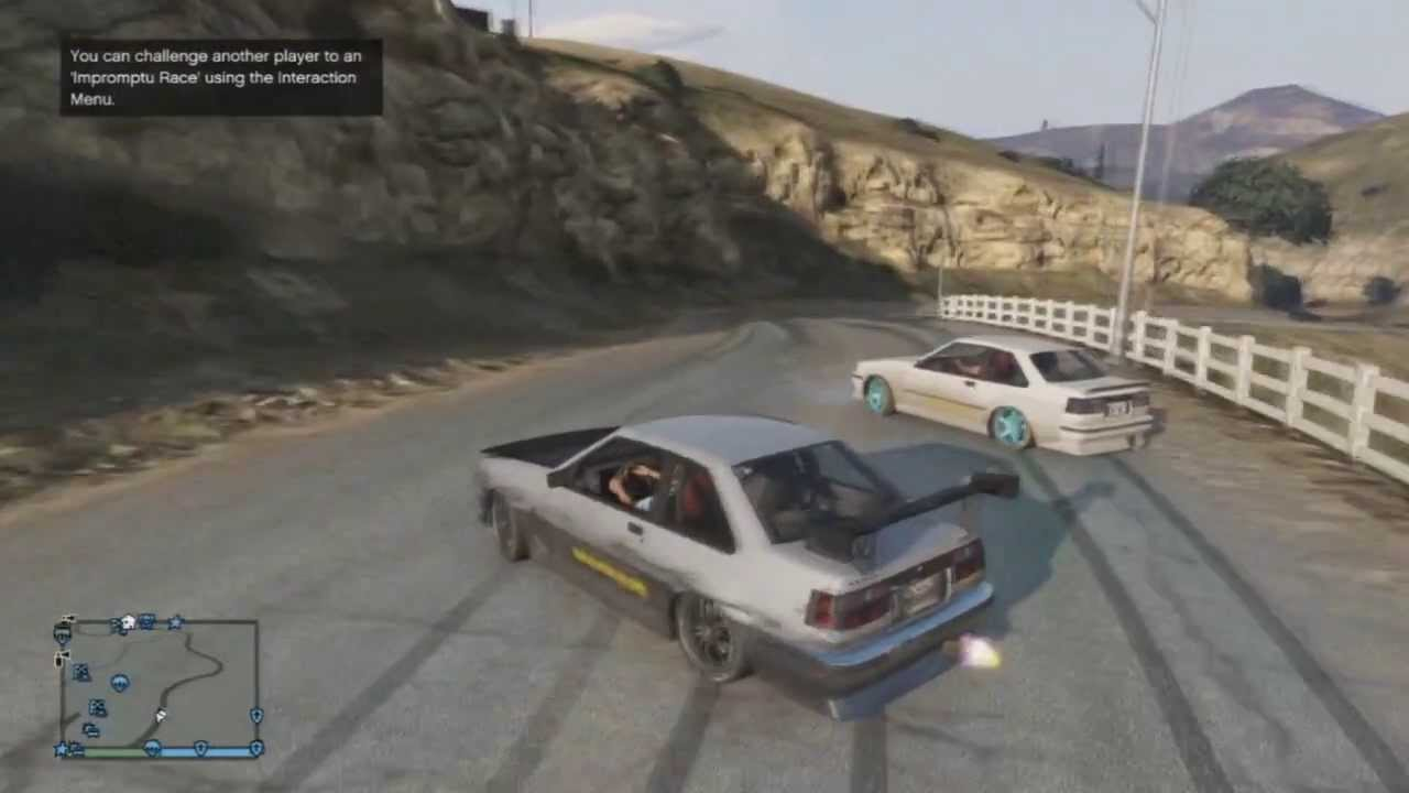 X Modz Gta V Online Tandem Drifting Youtube