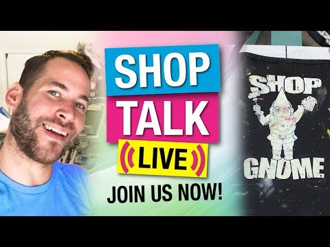 Upcoming 2.0 T-Shirt Registration And Proof Template - Shop Talk Live