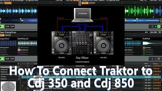 How To Connect Pioneer Cdj 350…