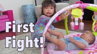 Their first ever sister fight - August 25, 2014 - itsJudysLife Daily Vlog