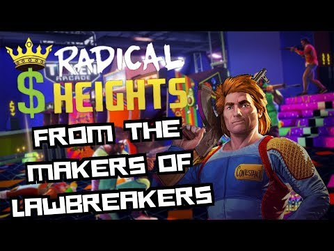 Radical Heights -  New Battle Royale Game From The Makers of Lawbreakers (Gameplay)