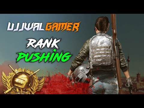 Rank Pushing to Conqueror | PUBG Mobile Live