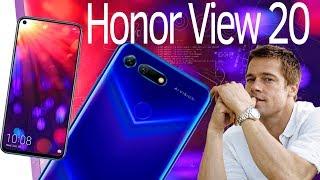 Инфо. Honor View 20 от Huawei, Дырявый смартфон! за 500$. Камера 48 Мп