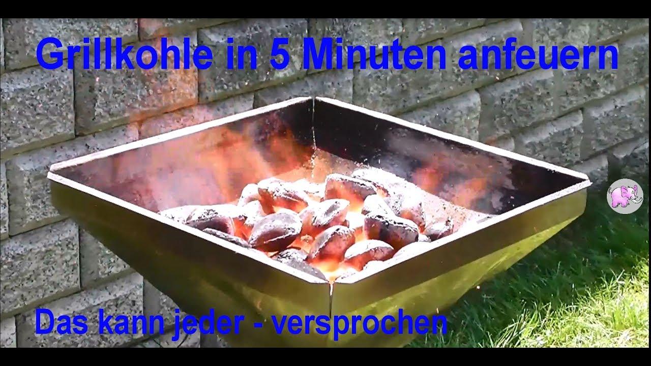 Weber Holzkohlegrill Anfeuern : Grill anzünden in 5 minuten echtzeitaufnahme youtube