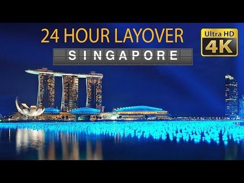 DIY Layover (4K) - 24 hour in Singapore: Marina Bay, Merlion, Haji Lane, Parliament House