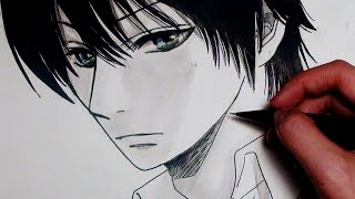 ✿How I Draw A Cool Anime Guy - ナノカノカレ