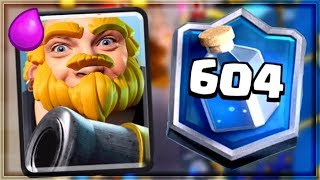Clash Royale - DESTROYING THE LADDER! Top 600