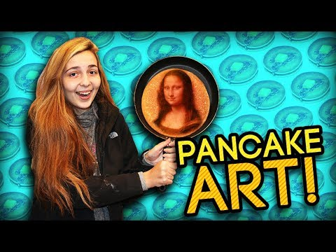PANCAKE ART CHALLENGE! (Learn How to DRAW Like a PRO)